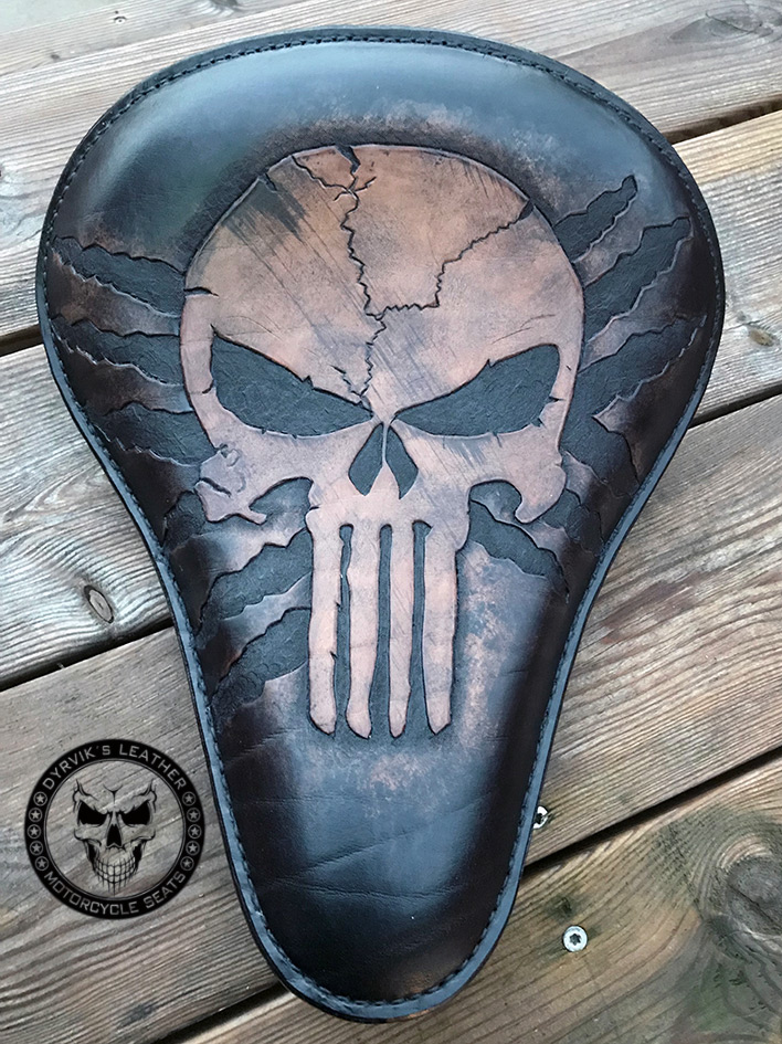 Punisher leather seat